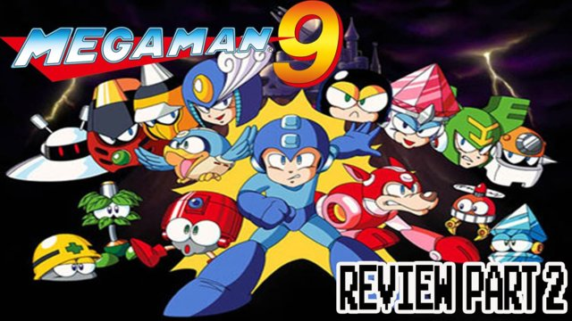 Kwing Game Reviews - Mega Man 9 Game Review Part 2