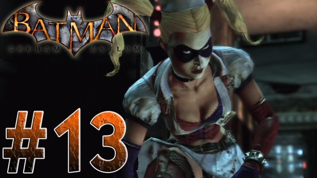 Arkham Asylum - Harley and Ivy! Batman Arkham Asylum Part 13
