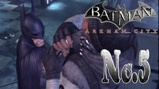 BATMAN ARKHAM CITY - Spring cleaning GCPD