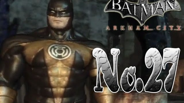 Batman arkham city - Go Go Gold Bat Ranger!