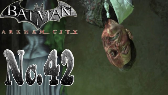 Batman arkham city - New Game Plus Batman is a Fat Head!