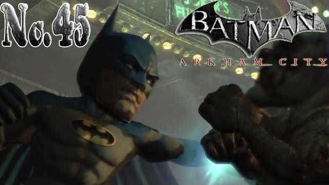 Batman arkham city - You're going to melt just like a grilled cheese sandwich! New Game +