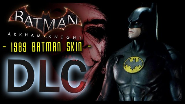 Batman Arkham Knight: DLC 1989 Batman Skin and LORE