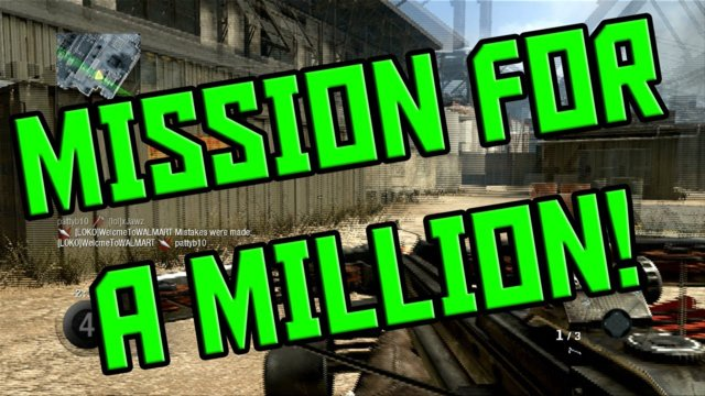 Mission For A Million #9 - Sticks N Stones!