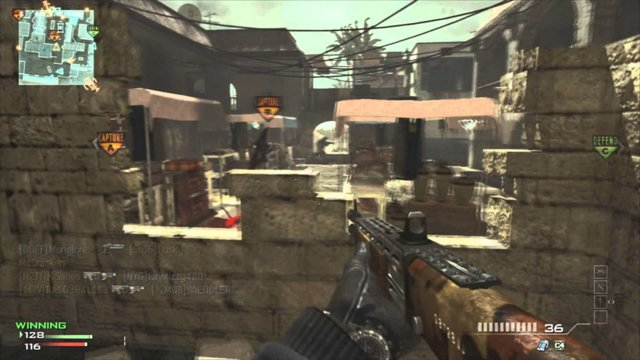 MW3: 76-8 Shotgun Gameplay