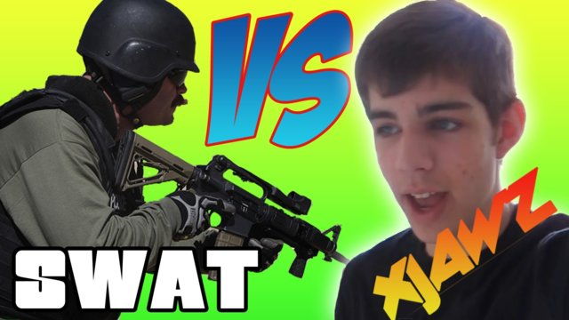 SWAT Team Vs xJawz!!