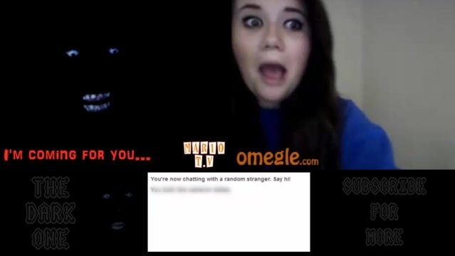 The Dark One | DOES MY LAUGH SCARE YOU? - Omegle