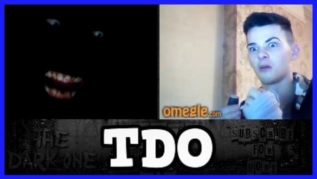 The Dark One | I HOPE THEY COME TO YOUR HOUSE - Omegle Scare