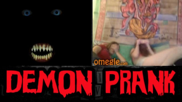 TDO | I'LL GIVE YOU MY SOUL FOR YOUR MASK - Omegle Scare