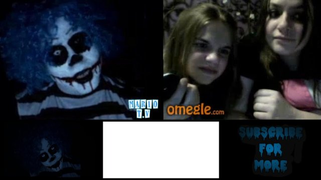The Dark Clown | HAVE YOU SEEN CREEPY? - Omegle