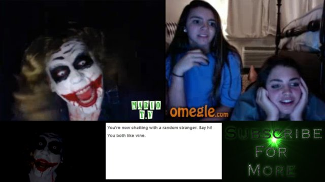 CAN YOU TELL ME A JOKE? - Omegle