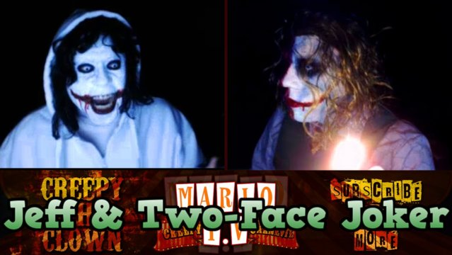 Jeff The Killer & Two-Face Joker Mix | DON'T CUT YOURSELF - Omegle