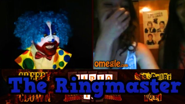 The Ringmaster | YOU SCARE ME - Omegle Scare