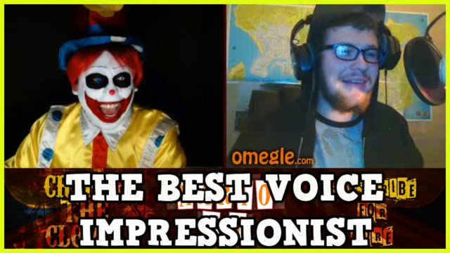 Creepy The Clown | THE BEST VOICE IMPRESSIONIST - Omegle