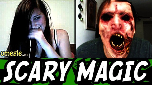 Scary Magic Prank on Omegle!