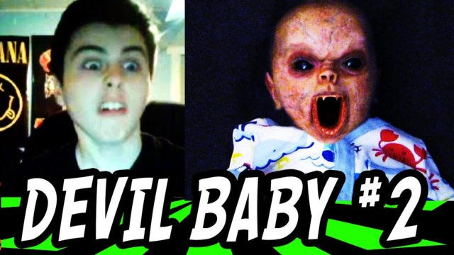 Devil Baby Prank on Omegle 2 !