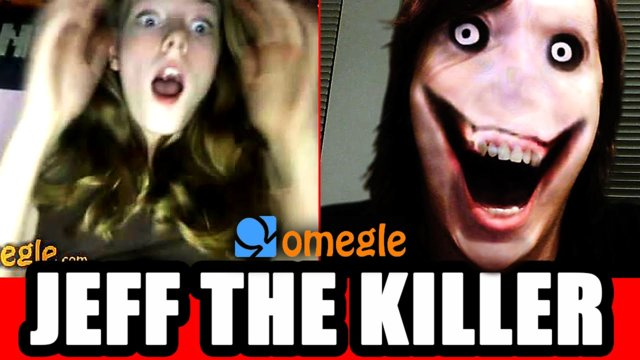 Jeff the Killer Scares Omegle Video Chatters!