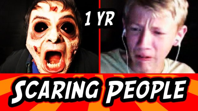 Jump Scaring People on Omegle!
