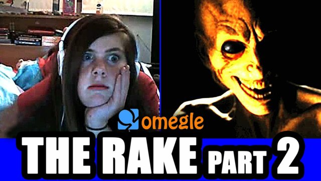 The Rake Scares Omegle Video Chatters - Again!