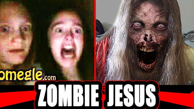 Zombie Jesus - Scary Prank on Omegle ! Part 2