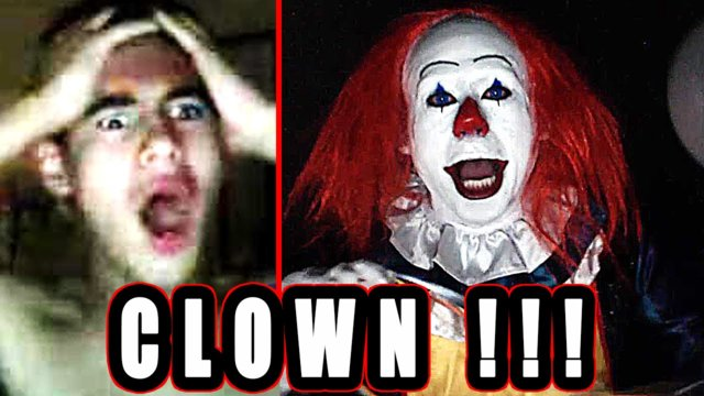 Killer Clown Prank on Video Chat! with Pennywise