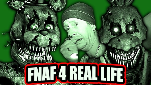 Five Nights At Freddy's 4 In Real Life :VS Ghost Hunters