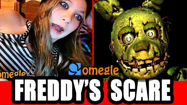Five Nights At Freddy's - Scary Omegle Prank!