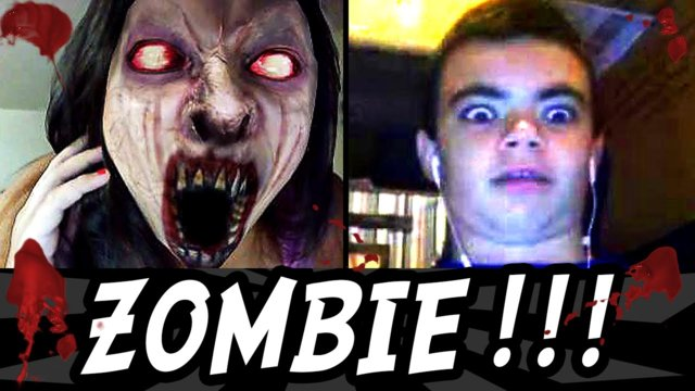 SCARY Zombie Prank (Omegle Funny Moments)