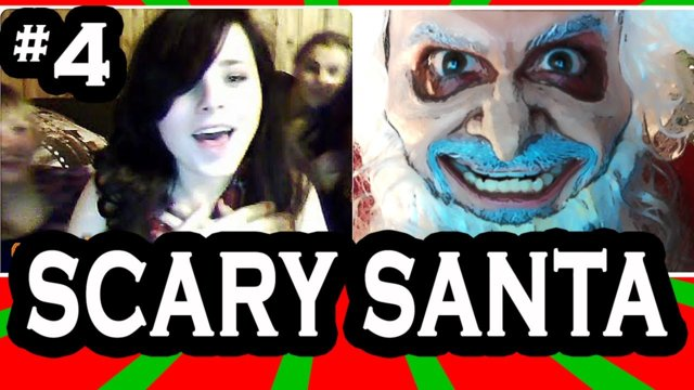 Scary Santa goes on Omegle! pt. 4