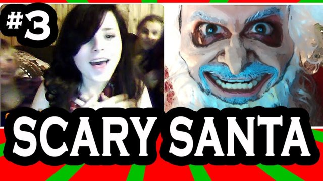 Scary Santa goes on Omegle! pt. 3