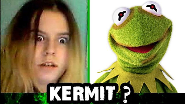 Omegle Pranks - Kermit the Frog Scaring People