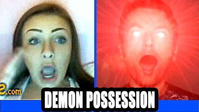 Omegle Pranks - Possessed by the Devil