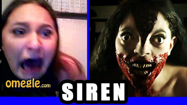 SCARE PRANK : The SIREN Goes On Omegle !