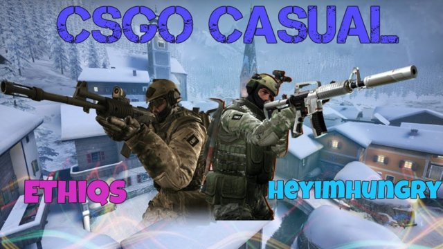 [Counter Strike] CSGO Casual Gameplay | Austria | Ring Of Druids | HeyImHungry & Ethiqs