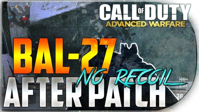 "Call of Duty Advanced Warfare ""Bal-27 No Recoil Class"" - After Patch"