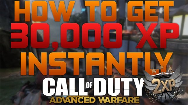 "Advanced Warfare ""Tips & Tricks""! - ""HOW TO EARN 30,000 XP AS SOON AS YOU PRESTIGE"" - ""30K XP"""