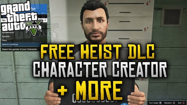 GTA 5 Online - NEW Character Creator, FREE Heist DLC & More! (GTA 5 Online PS4/Xbox One)