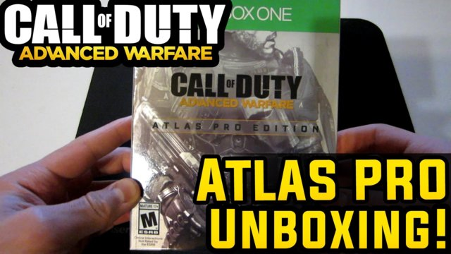 Call of Duty Advanced Warfare : Atlas Pro Edition Unboxing Xbox One COD AW!