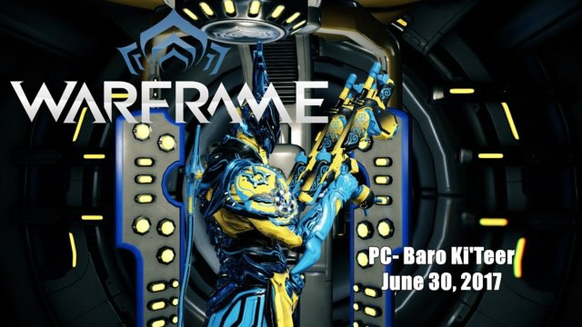 Warframe (PC): Baro Ki'Teer for June 30, 2017 - Twin Grakata's Towsun Skin