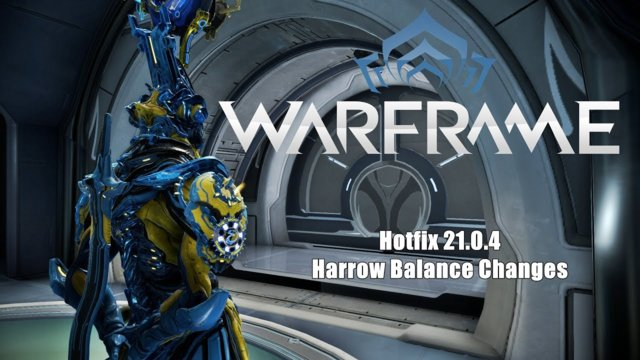 Warframe: Hotfix 21.0.4 Harrow Balance Changes
