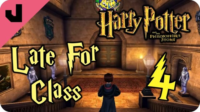 Late For Class (As Always) (Philosopher's Stone #4)