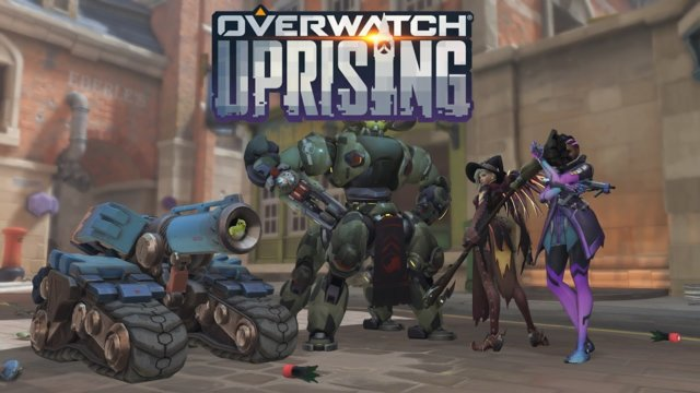 Overwatch Uprising: Rolling as Bastion w/the NOG