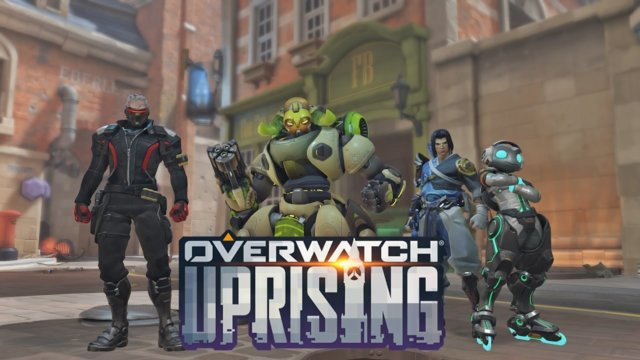 Overwatch Uprising: Playing as Soldier 76 w/the NOG