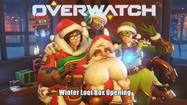 Overwatch: Let's Open 29 Winter Loot Boxes Together - Happy New Year!
