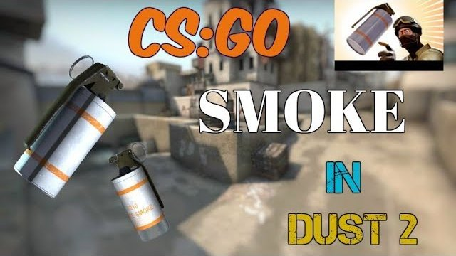 [Counter Strike] How To Smoke In DUST 2 | Useful Smoke Tutorial