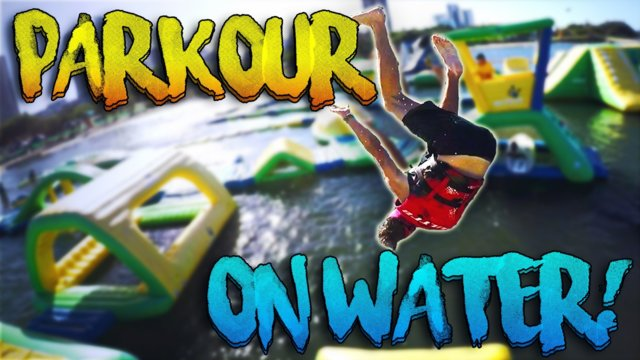 EPIC PARKOUR ON WATER!! - Vlog #10