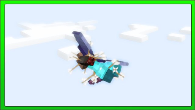 "[Minecraft Concepts] Elytra Wings + Punch Bow = ""Infinite"" Flying"