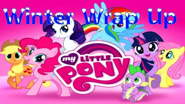 My little Pony Friendship is Magic Winter Wrap Up Midi
