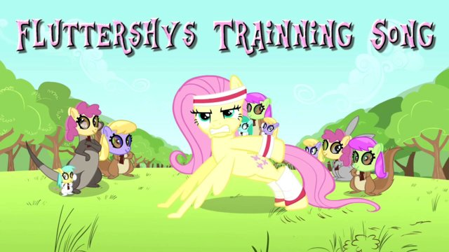 My Little Pony Fluttershys Trainning My Little Pony Song Midi