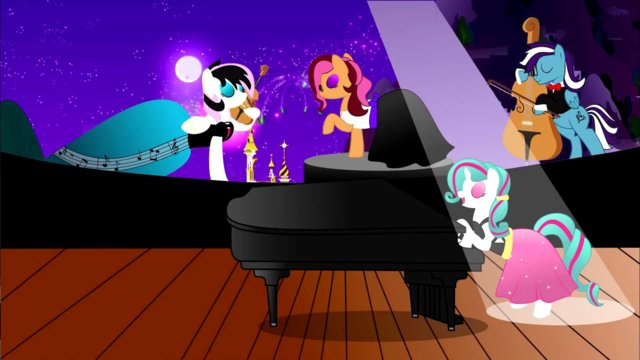 The Magic Inside (I Am Just A Pony) (Preview MP3 Midi)